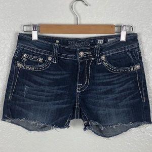 Miss Me Cut Off Shorts Size 27